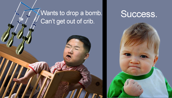 Kim Jong Un is a baby